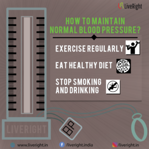 How to maintain blood pressure ?