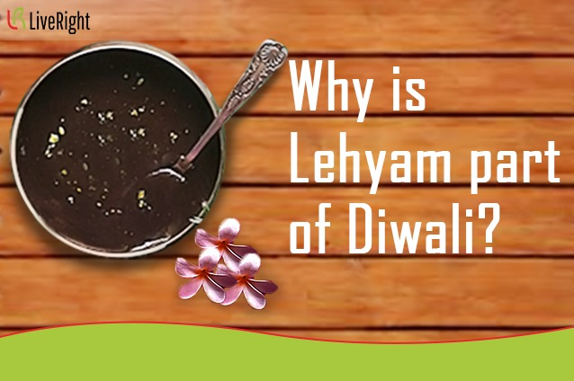 Why is Lehyam part of Diwali ?