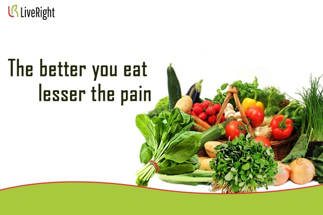 Healthy eating for Arthritis.