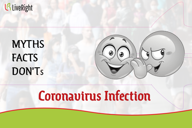 Myths,Facts and Dont's for coronavirus.