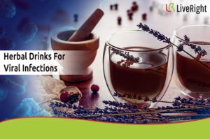 Herbal drinks for viral infections.