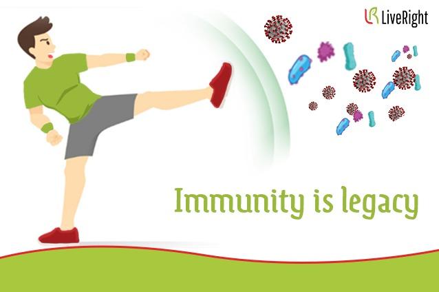 Immunity is legacy.