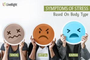 Symptoms of Stress based on body type