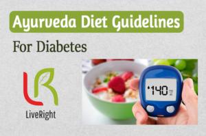 Ayurveda Diet guidelines for diabetes